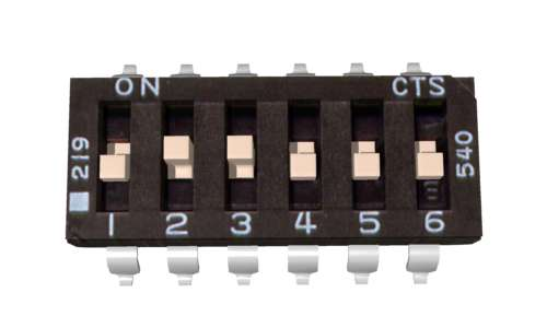 Sabertooth DIP Switch Settings