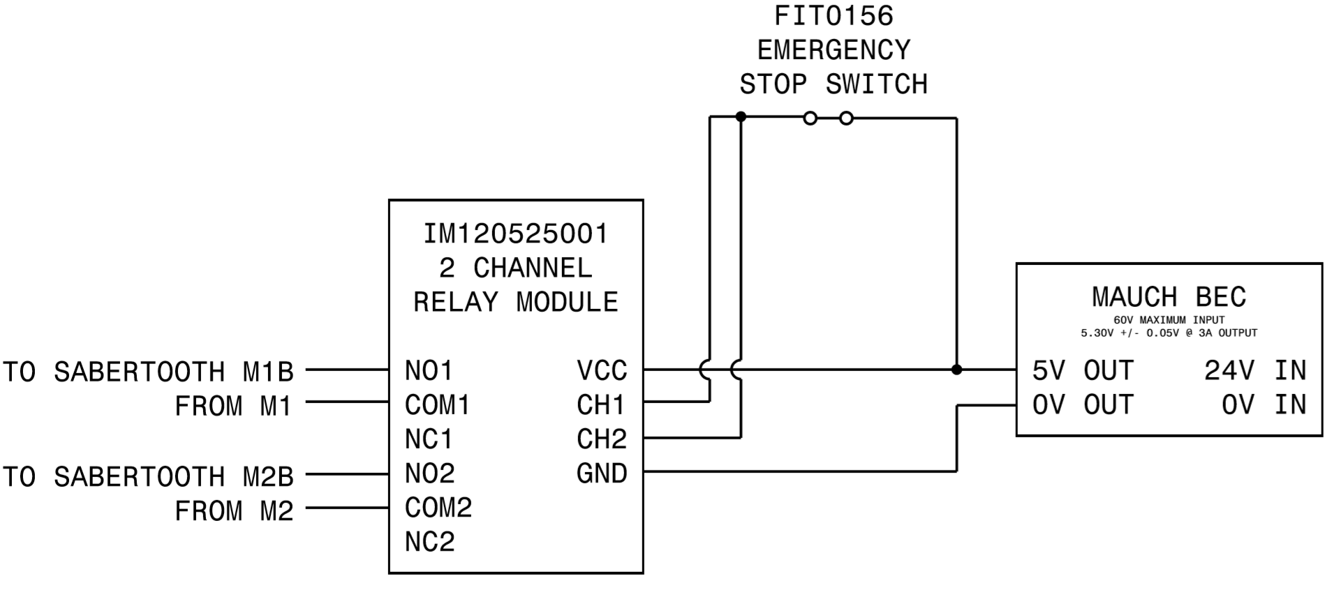 Emergency Stop Safety Switch Wiring Diagram Posts Push On Start The Mower Project Button