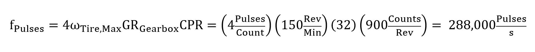pulses at 150rpm