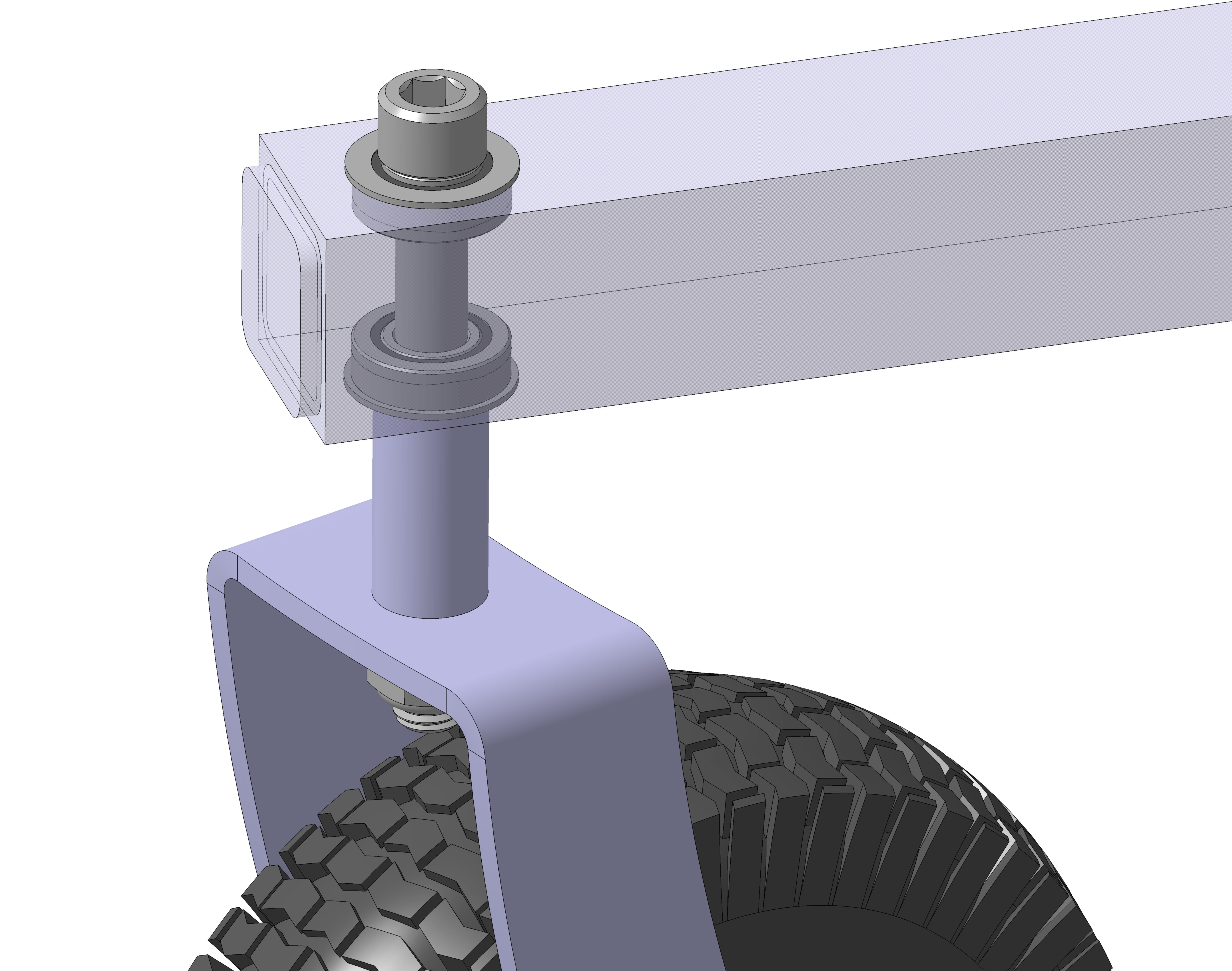 extra flange bearings